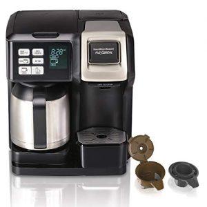 Single Serve & Full Pot FlexBrew Thermal Coffee Maker