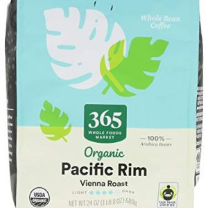 Coffee Pacific Rim Vienna Roast Organic Whole Bean