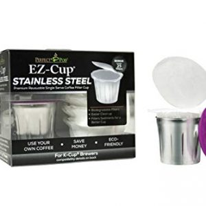 EZ-Cup Stainless Steel Reusable K Cup Coffee Pod