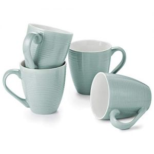 DOWAN Large Coffee Mugs Set of 4