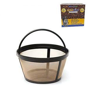 GoldTone Reusable 8-12 Cup Basket Filter fits