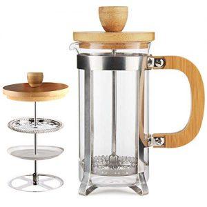 French Press Coffee/Tea Maker Single Server