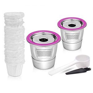 Stainless Steel Reusable Cups Compataible for Keurig