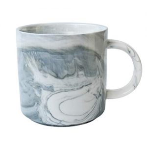 Marbling Ceramic Coffee Mug, Tea Cup for Office and Home
