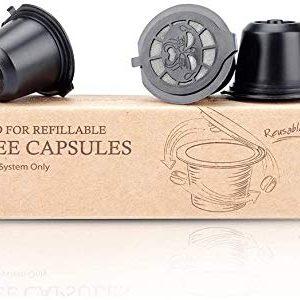 RECAPS Refillable Coffee Pods Reusable Filters