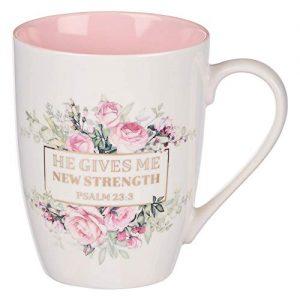 Ceramic Christian Coffee Mug for Women