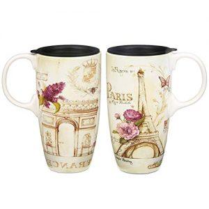 CEDAR HOME Travel Coffee Ceramic Mug