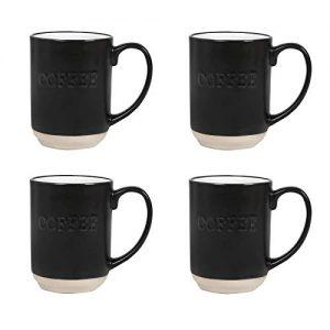 Sheffield Home Set of Stoneware Coffee Mugs