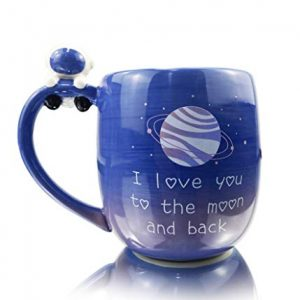 16 Ounce Large Ceramic Mugs with Handle