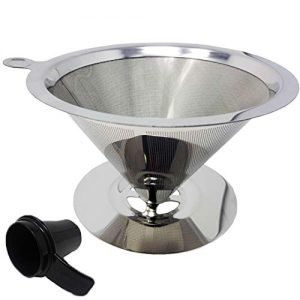 GOLDTONE Pour Over Coffee Maker Paperless Filter