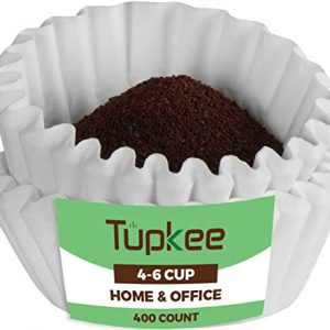 Tupkee Coffee Filters 4-6 Cups - 400 Count