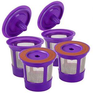 Keurig K Cups Pod Coffee Filters for Keurig 2.0 & 1.0 Brewers