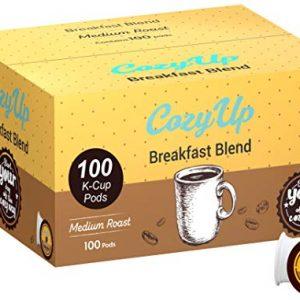 Keurig Brewers Breakfast Blend Medium Roast Coffee Pods