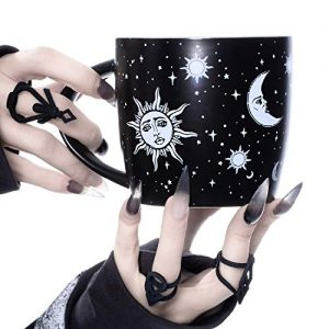 Coffee Mug (Celestial) by Rogue + Wolf Witch Goth Accessories