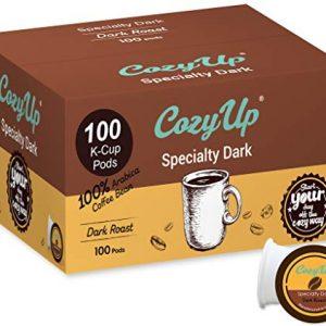 Dark Roast Blend Coffee Pods for Keurig K-Cup Brewers