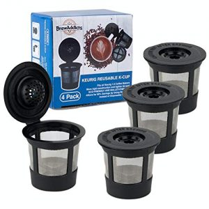 Brew Addicts Reusable K-Cups for Keurig 1.0 Brewers