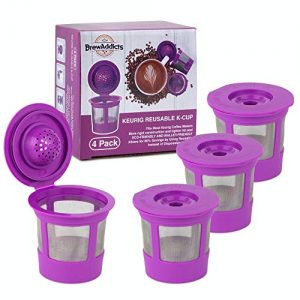 Brew Addicts Reusable K-Cups for Keurig