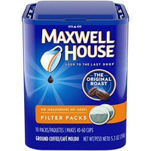 Medium Roast Ground Coffee Filter Pack