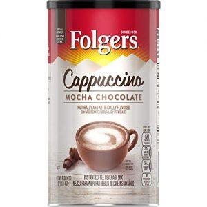 Folgers Cappuccino Mocha Chocolate Mix