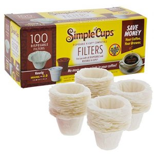 Disposable Filters Compatible with Keurig Brewers
