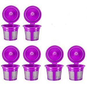 Reusable K Cups, 6 Pack Universal Fit Reusable Coffee Filters