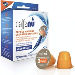 Caffenu Cleaning Capsules Compatible with Nespresso Originaline Machines