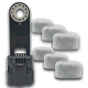 6-pack Replacement Charcoal Water filter Cartridges
