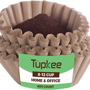 Tupkee Coffee Filters 8-12 Cups - 600 Count