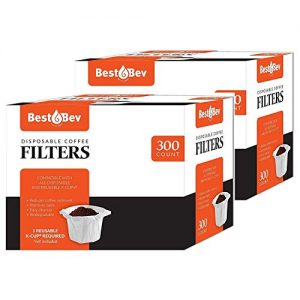 Party Bargains 600 Disposable K-Cup Paper Coffee Filters