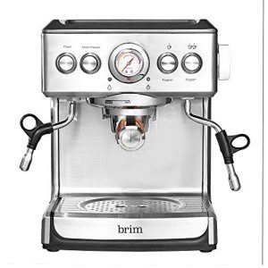 Brim 19 Bar Espresso Machine, Fast Heating Cappuccino