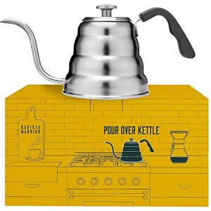 Barista Warrior Stainless Steel Pour Over Coffee & Tea