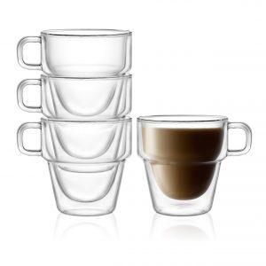 Stoiva Double Wall Insulated Coffee Mugs
