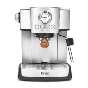 Brim 15 Bar Espresso Machine, Fast Heating