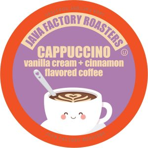 Keurig K Coffee Pods Vanilla Cream and Cinnamon Flavored Coffee