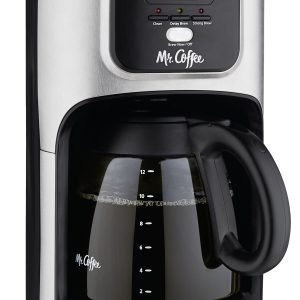 Programmable Coffee Maker with Brew Strength Selector