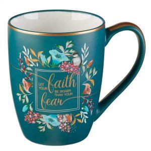 Floral Faith Mug for Women & Men