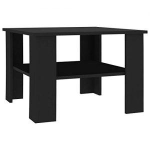Chipboard Coffee Table Black
