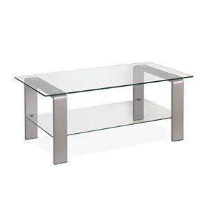Silver Henn & Hart Coffee Table