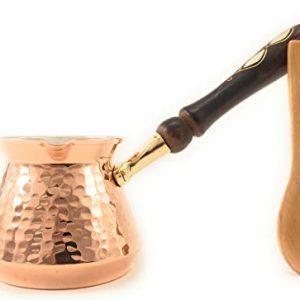 Turkish Greek Arabic Armenian Copper Coffee Pot