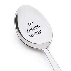Gift coffee spoon or tea engraved spoon