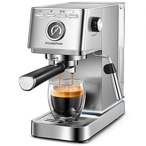 20Bar Compact Espresso and Cappuccino Maker with Milk Frother
