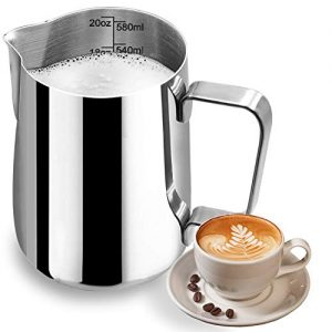 Milk Frothing Coffee Steaming Pitcher