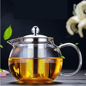 Tea Maker Glass Teapot with Removable Infuser