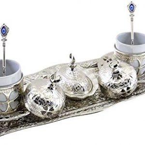Greek Arabic Coffee Espresso Serving Set