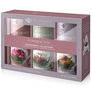 36 Gourmet Blooming Tea Flowering Tea Assortment Collection Gift Box