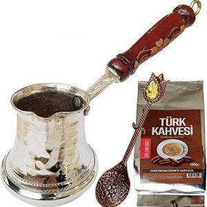 Handmade Copper Turkish Coffee Pot Antique Look